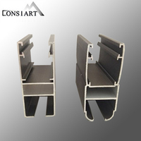 Constmart attractive designs aluminum bending profile 6063 aluminum tube