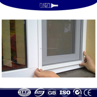 Easy assembly aluminum window screen frame parts