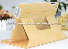 for ipad 3 magnetic smart cover leather case