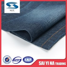 Chinese sales production textile 100%cotton twill woven jeans fabrics