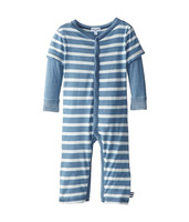Baby Romper Long Sleeve Pattern Baby Boys Two Pieces Blue Romper