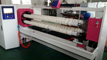 Four shaft bopp,masking tape slitter machine/adhesive tape roll slitting machine