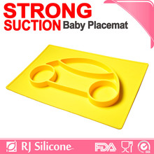 RJSILICONE silicone <strong>kids</strong> food container silicone placemat with plate for <strong>kids</strong>