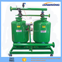 Sand media filter for drip irrigation system