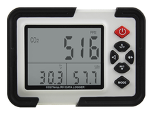 Temperature Humidity Data Logger Meter CARBON DIOXIDE CO2 Air Monitor LCD/USB