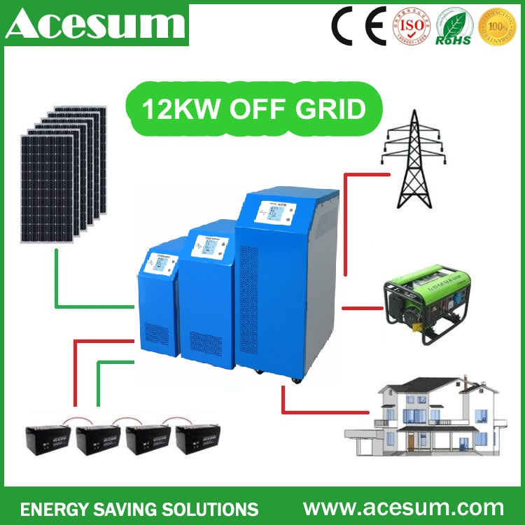 Acesum high power DC192V 96V renewable energy resources off grid high efficiency for smal power plant