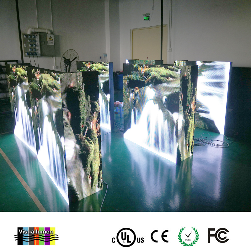 car led commercial advertising display screen/led taxi top/led car top