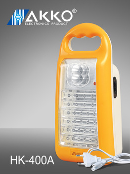 6v automatical rechargeable LED Emergency Light