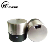 Stainless steel cylinder shape home kitchen timer countdown