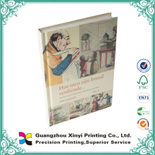 OEM good sale customized colorful recycled paper book printing