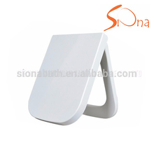 Hygienic Colorful standard square toilet seat