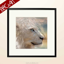 Realism Wild Animal Printed oil craft painting design