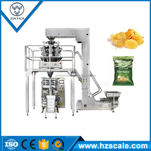 Automatic Pillow Bag Sweet Corn Flakes Packing Machine