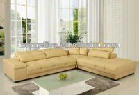 leisure calia leather sofa C015