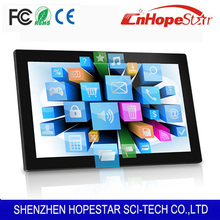 Full HD 1080P 21.5 inch touch all in one computer with mulit function