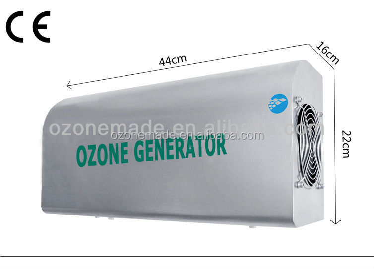duct air conditioning purifier by ozone generator, wall mounted ozone sterilizer