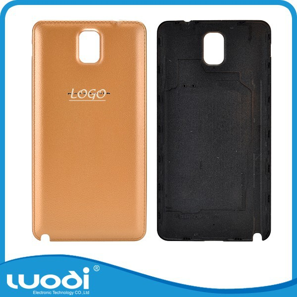 GOLD LEATHER BATTERY DOOR BACK COVER For SAMSUNG GALAXY NOTE 3 N9000 N9005