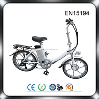 EN 15194&CE approval mini fashion design folding bike 36v bicycle