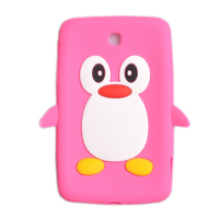 3D animal silicone protective cover case for samsung galaxy tab 3 7.0 P3200