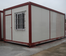 simple prefabricated container house
