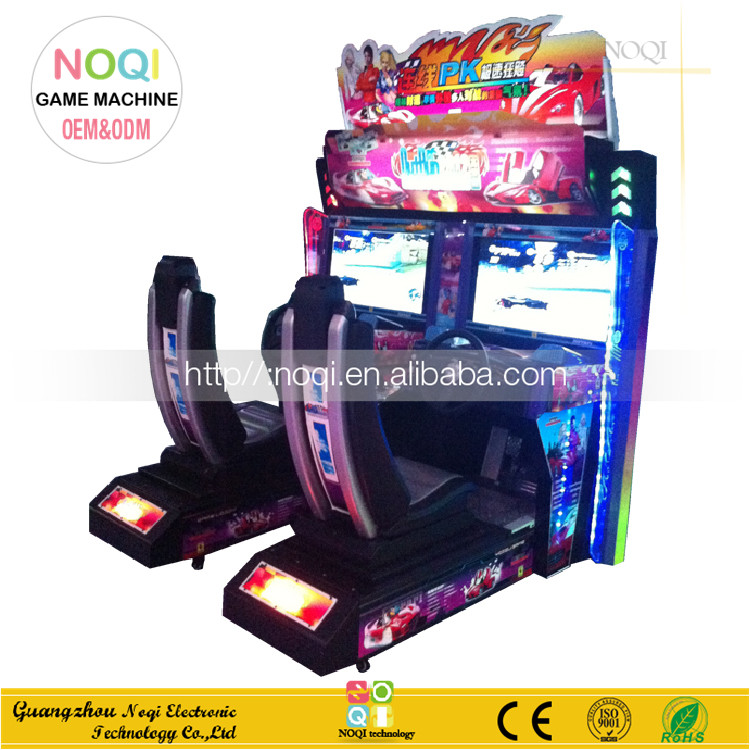 NQR-C05 Cool design luxury 2 players racing car game machine cheap game machine