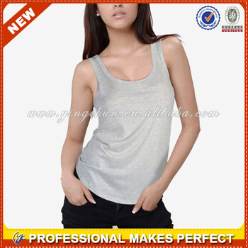 Hot sale sexy tank top for ladies(YCT-B0505)