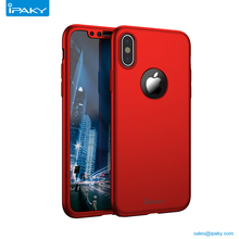 Shenzhen Free Sample Ipaky Cell Back Cover 360 Pc Mobile Phone Case For Iphone X