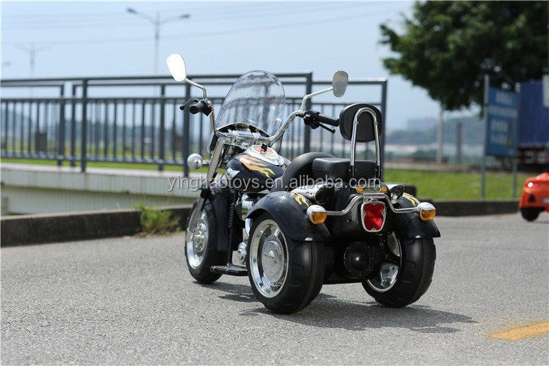3 Wheel 12V Electric Powered Fire Motorcycle Kids Battery Operated Ride On Toy Car for Children with Music and Lights