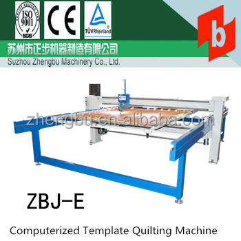 ZBJ-E Computerized quilting machine
