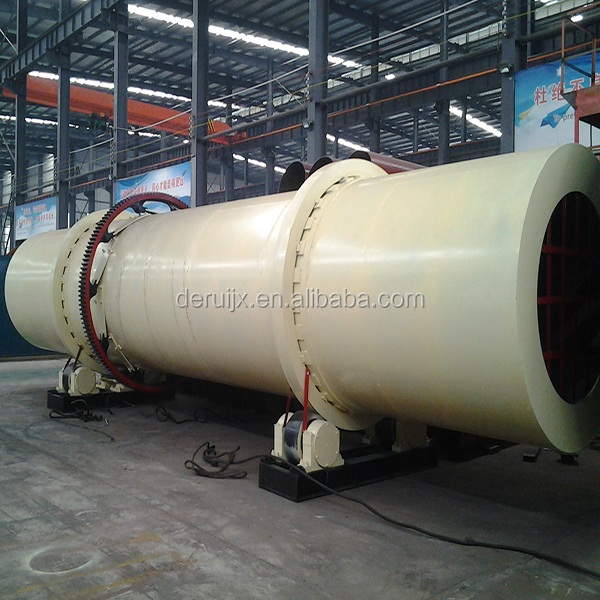 2017 Hot Selling Model 1000x10M Lignite Rotary Dryer and Brown Coal Drum Drying Production Plant from China