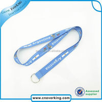 Top sales various logo & style custom lanyard with yoyo card holder With Metal Hook