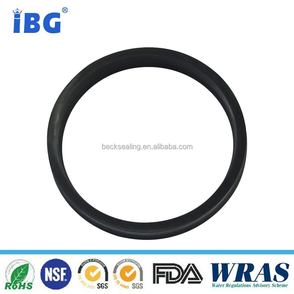 Factory supply high quality PU clear FKM rubber seal X/ Y/ V ring