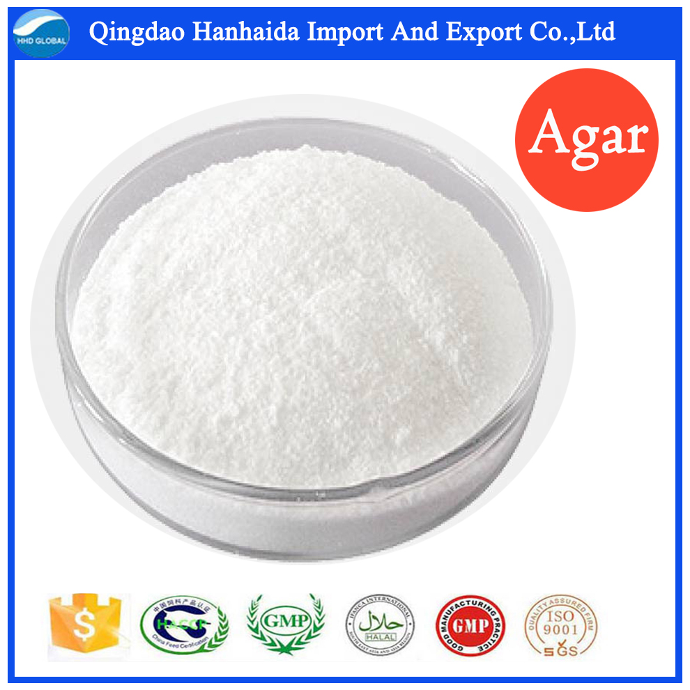 Factory supply high quality CAS 9002-18-0 Agar Agar powder with reasonable price and fast delivery!!