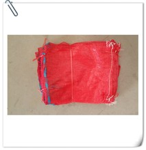 mesh bags for packaging vegetables with ribbon