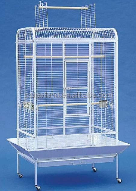 powder coated metal wire large outdoor bird cage pet products