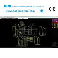 BOK Garment cad software system program for garment factory with one pen can finish all designing
