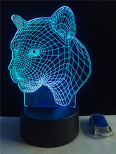 New creative products ! LED night lights 3D magic table lamp