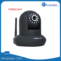 Foscam FI8910W Wireless Wired Pan & Tilt IPNetwork Camera with IR-Cut Filter for True Color Images - 8 Meter