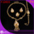 free shipping indian gold plated jewelry/gold plated jewelry/italian gold plated jewelry sets/african jewelry set FJ2828