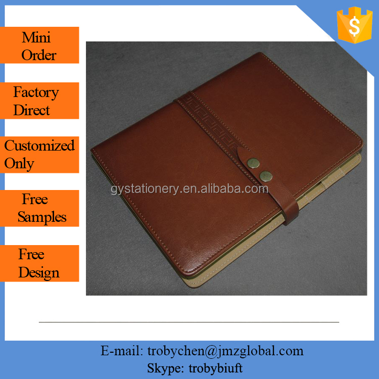 Best sell cheap price a5 custom pu leather notebook cover