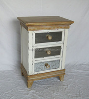 Classic Antique Mirrored Glass Chest of Drawers