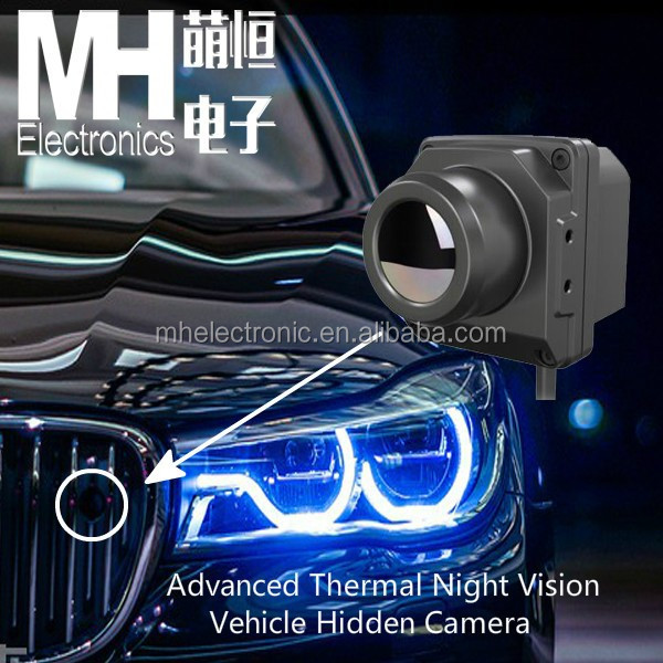 Military Thermal Imaging Night Vision Car Camera
