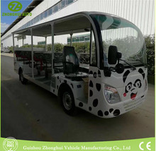 hot sale electric cartoon Sightseeing car bus for travel
