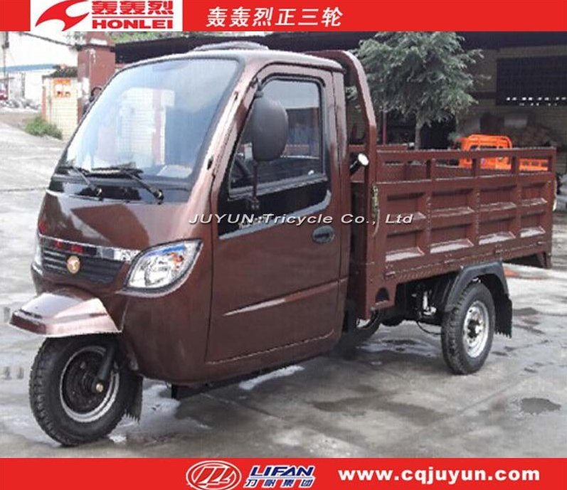 air cooling engine tricycle/Cabin Cargo Tricycle made in China HL175ZH-C12