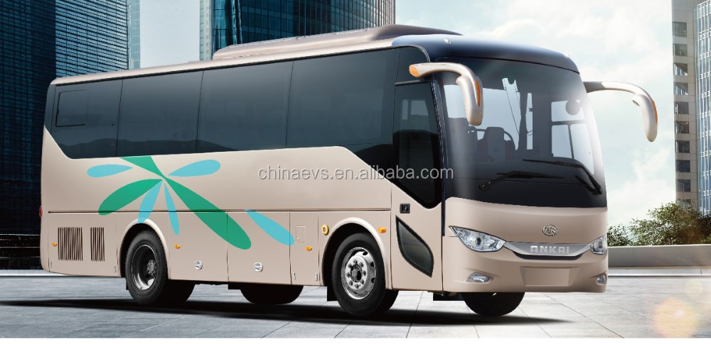 Electric Luxury Coach Bus With High Power and Long Range