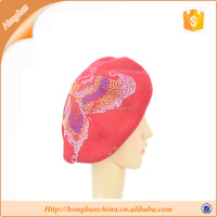 100% Wool Material and Weaving,Hand Knitting,Knitting,Sewing Use wool yarn Cap, Beret