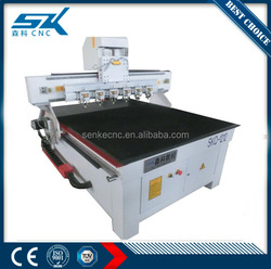 China big discount 1200*1200 cnc glass cutter fast on round rhombic in high precision