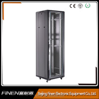 Economy China factory 27u network cabinet for Patch Panels and Switches