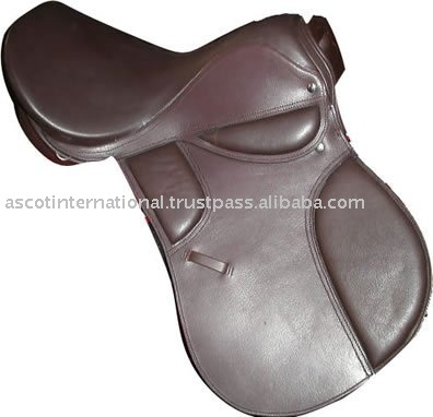 English Saddle with genuine leather