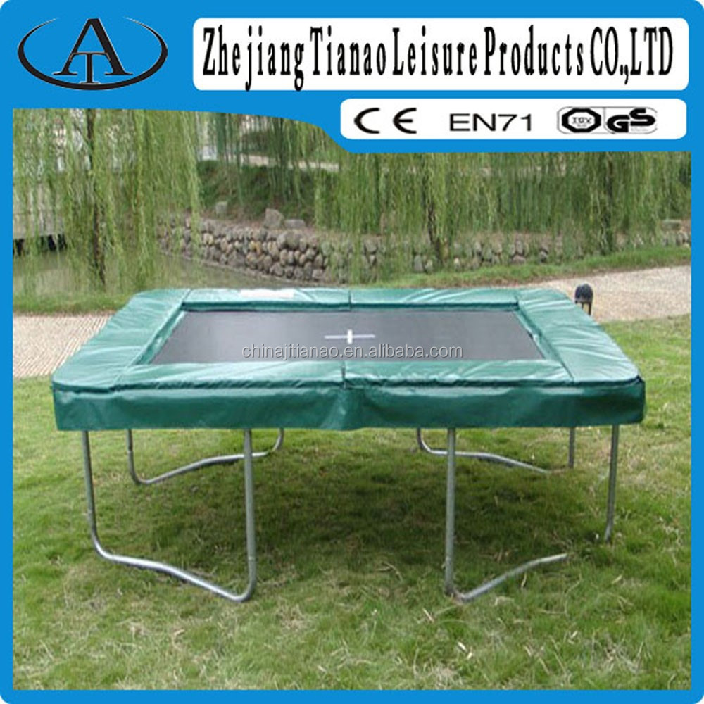 Square Trampoline Without Safety Net,8ft X 10ft Olympic